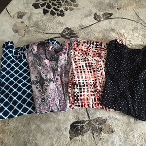 4 NYDJ plus size blouses in size 2x
